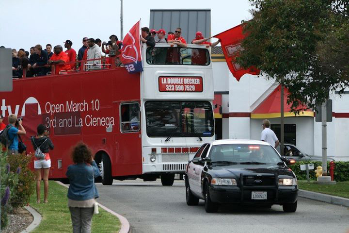 The Big Red Bus Company